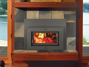 FireplaceXtrodinair Flush Wood 33 Elite Plus Rectangular Insert